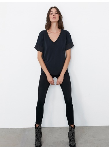 Ipekyol Tişört Siyah